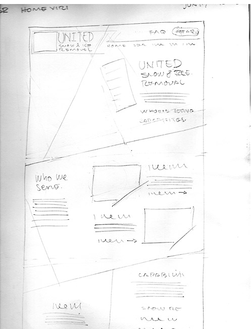 Concept wireframe